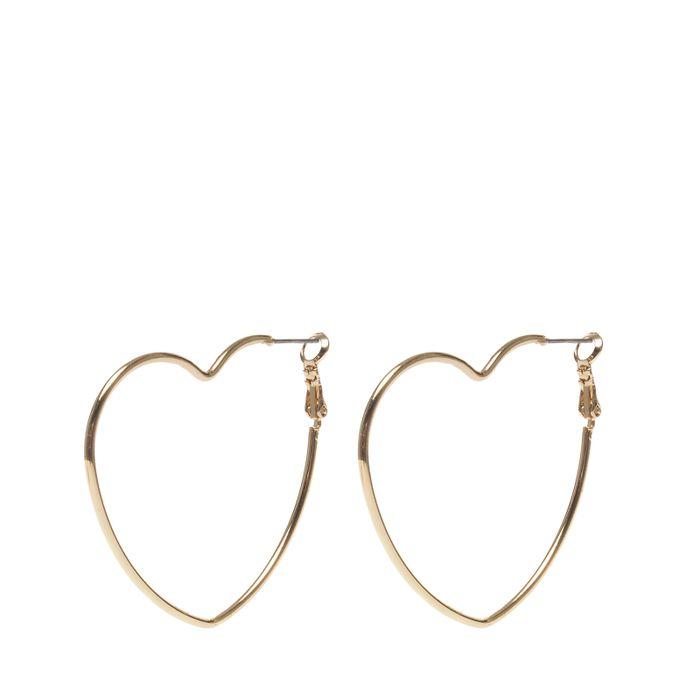 Gouden hartjes oorbellen