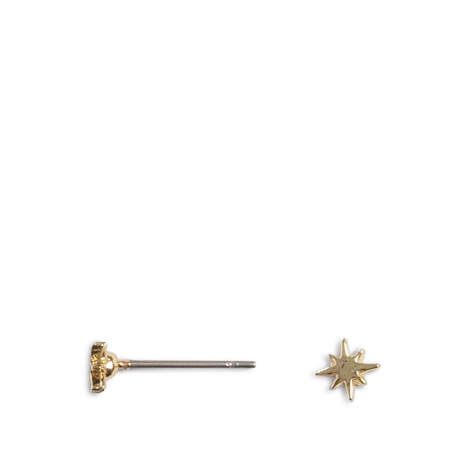 Goudkleurige sterren knopjes