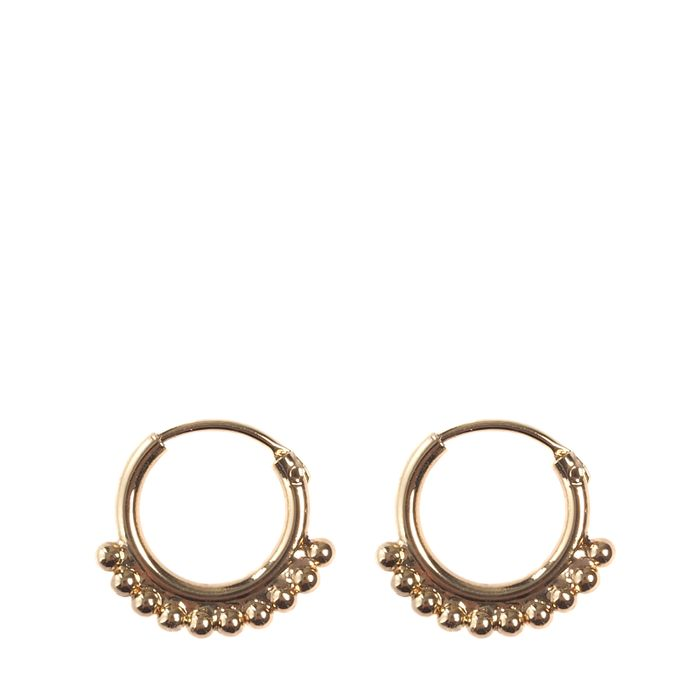 Goudkleurige ringetjes met details