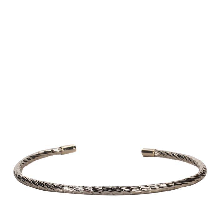LUZ twisted armband goud