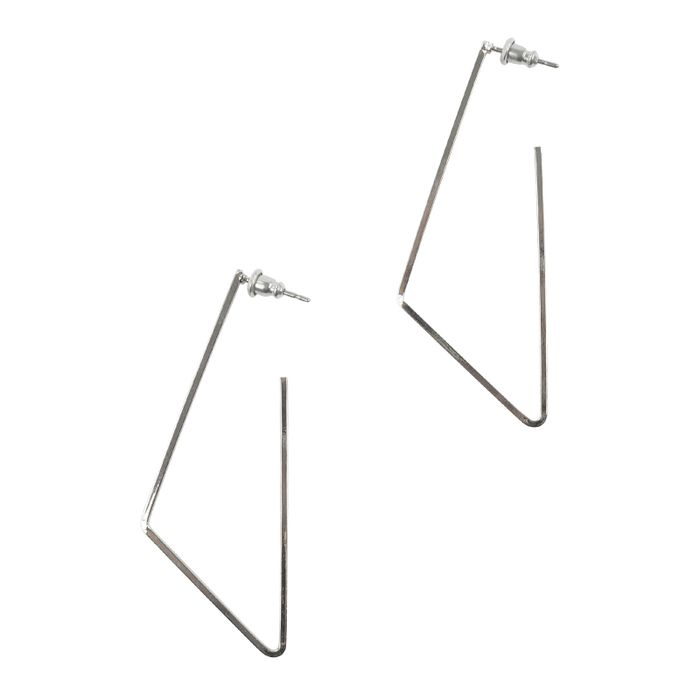 Geomethrische oorbellen