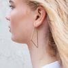 Geometrische oorbellen