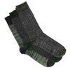 Set van 3 groene sokken
