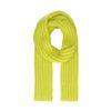 Grof gebreide sjaal neon groen
