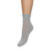 Blaue Glitzer-Socken