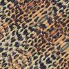 Foulard avec imprimé léopard