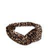 Bandeau en velours avec imprimé léopard