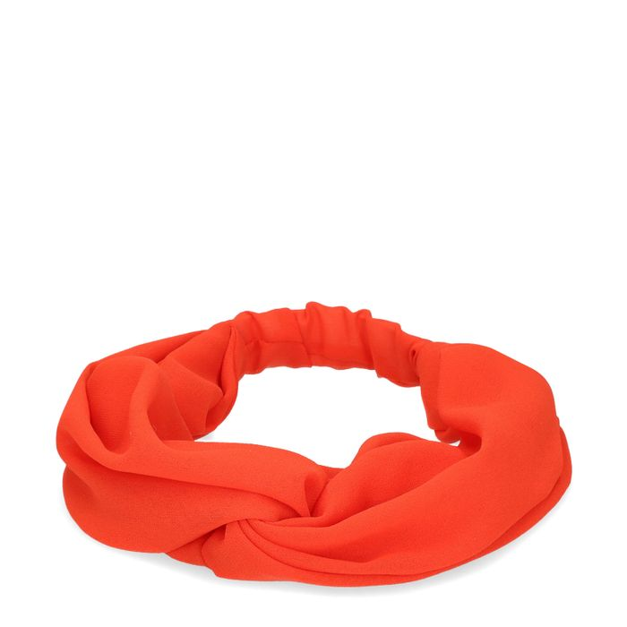 Oranje haarband