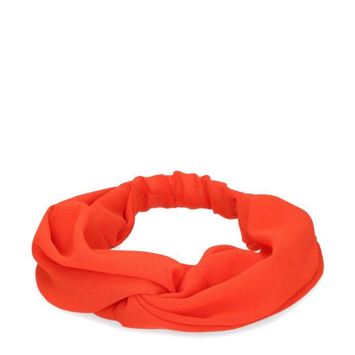 Orangefarbenes Haarband