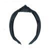 Schwarzes Haarband mit Knoten