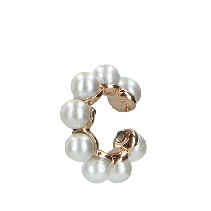 Ear cuff avec perles - doré