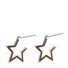 Boucles d'oreille étoiles - doré