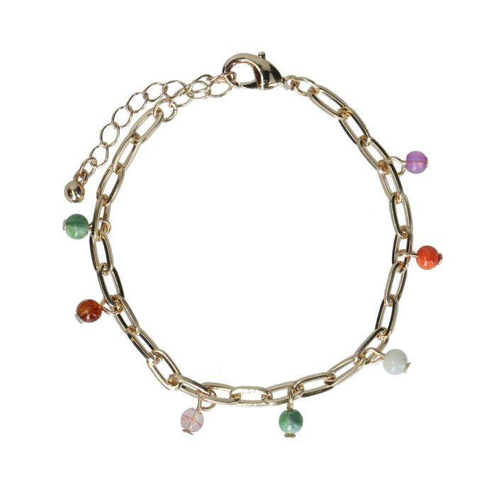 Bracelet avec cercle - doré