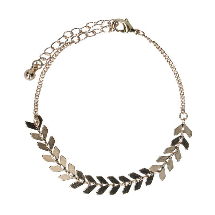 Bracelet avec petites flèches - doré