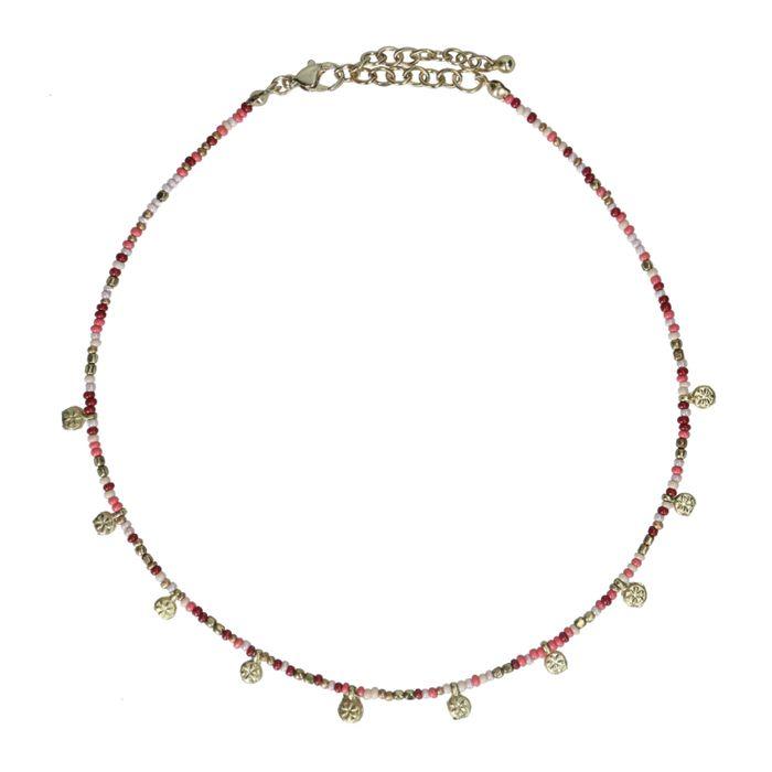 Collier avec pièces - multicolore