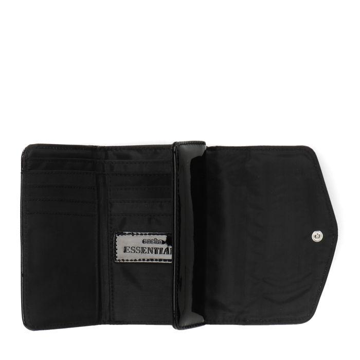 Zwart lak portemonnee