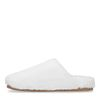 Offwhite Woll-Pantoffeln