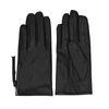 Schwarze Leder-Handschuhe