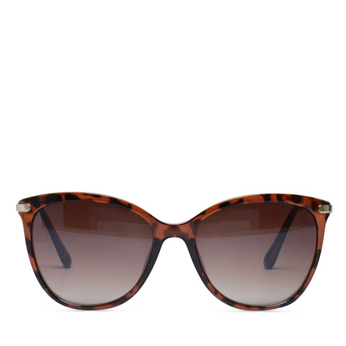 Classy zonnebril panterprint