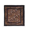 Bruin sjaaltje met panterprint en tijgerprint