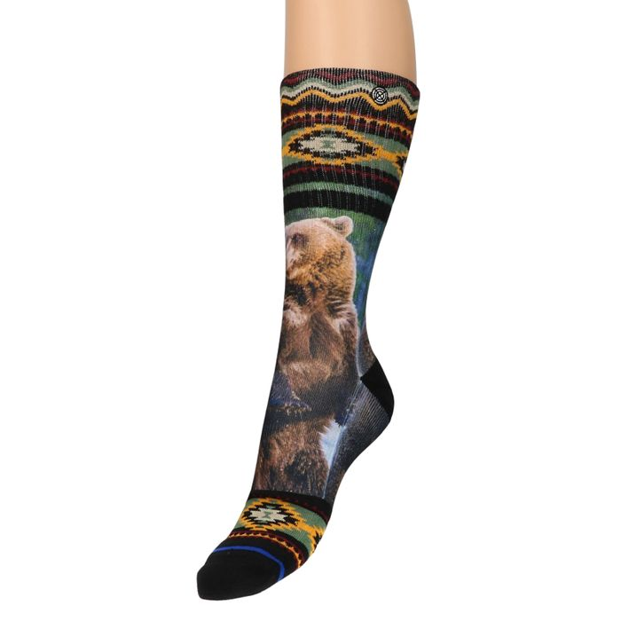 XPOOS Socken Bär-Aufdruck