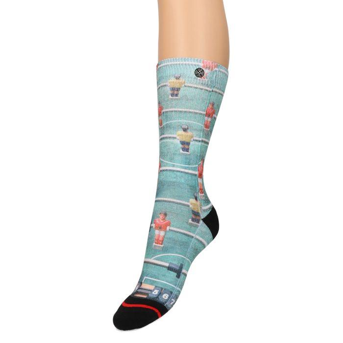 XPOOOS sokken met tafelvoetbal print