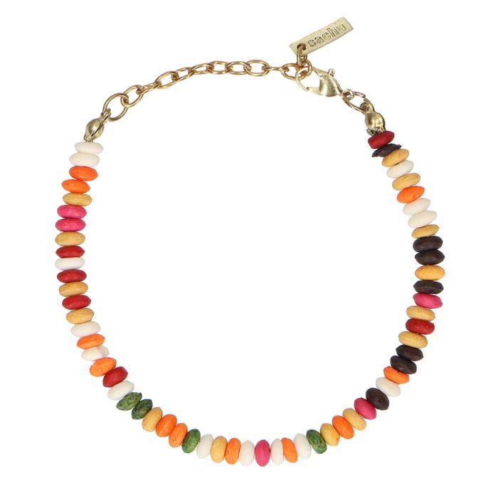 Armbandje met multicolor kralen