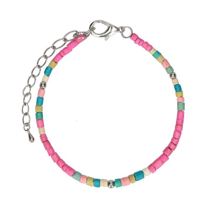 Armband met multicolor kralen