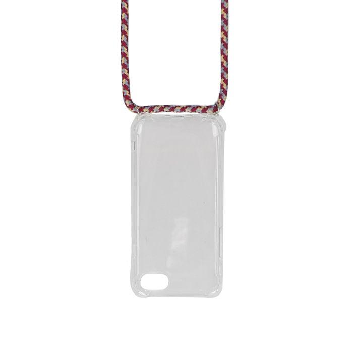 Lanière de téléphone ajustable - multicolore