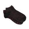 Chaussettes avec paillettes roses - noir