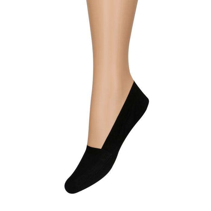 Socquettes pour baskets unisexe 2 paires - noir