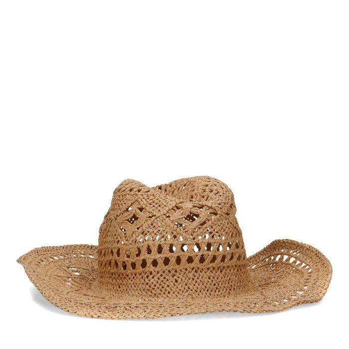Cowboyhoed van papierstro