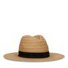Hut aus Papier-Stroh