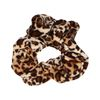 Velvet scrunchie panterprint