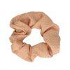 Paarse scrunchie met oranje details