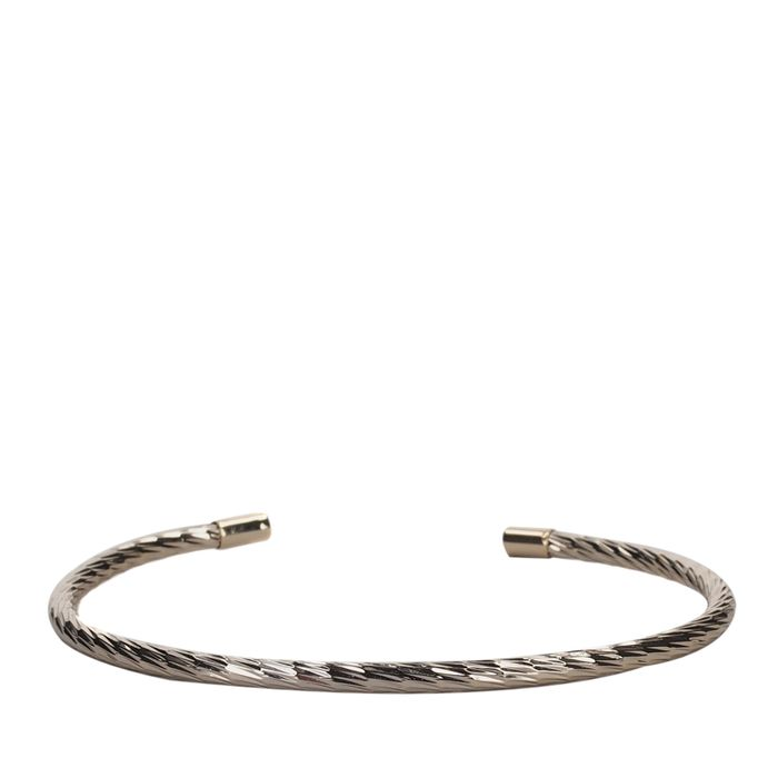 LUZ Bracelet torsadé - doré