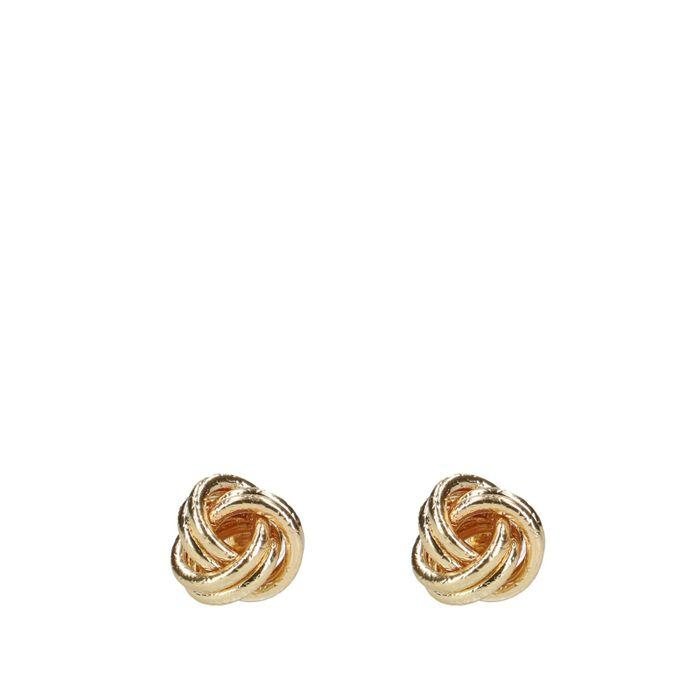 Boucles d'oreille nœud - doré