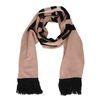 Roze sjaal met tekst FREEZING