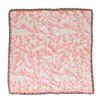 Roze en wit sjaaltje met panters