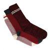 Set van 3 rode sokken