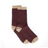 Rode glitter sokken