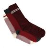3er-Set rote Socken