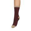 Rote Glitzer-Socken