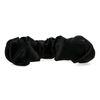 Schwarzes Haarband mit Falten