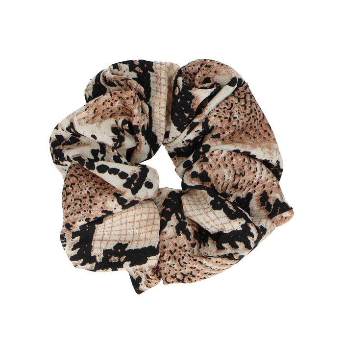 Scrunchie mit Schlangenmuster