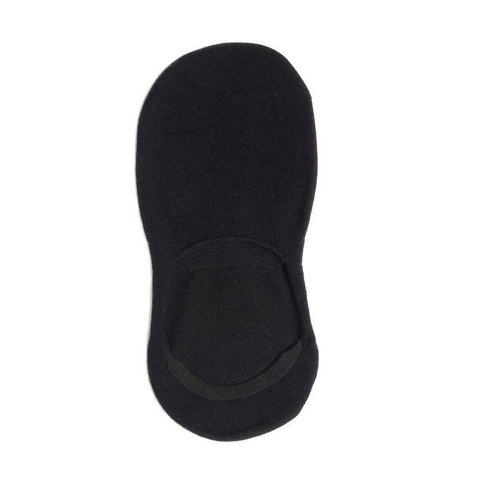 Sneakersocken Unisex schwarz