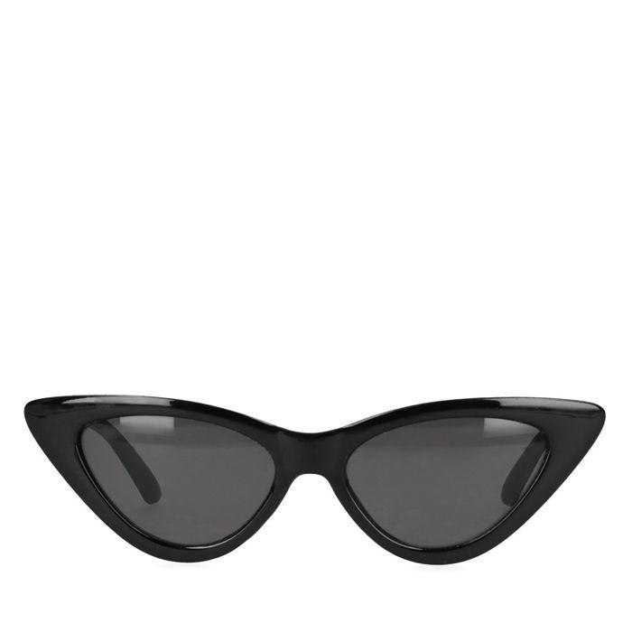 Schwarze Cateye-Sonnenbrille