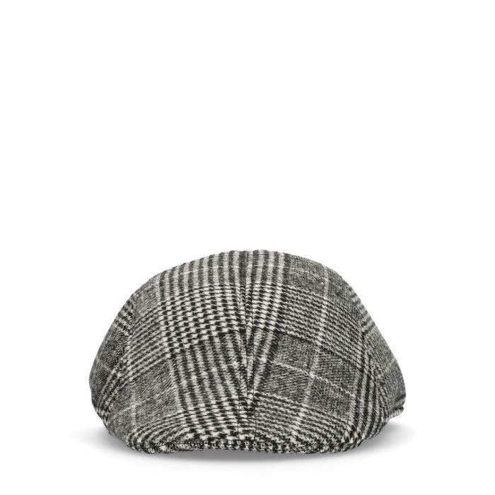 Karierte Flat Cap