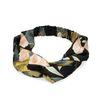 Schwarzes Haarband mit Blumen