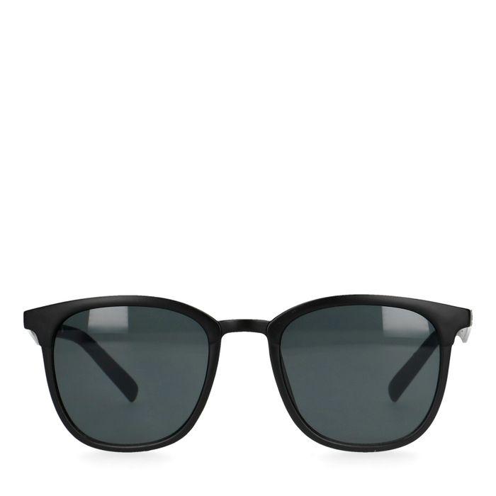 Mattschwarze Sonnenbrille